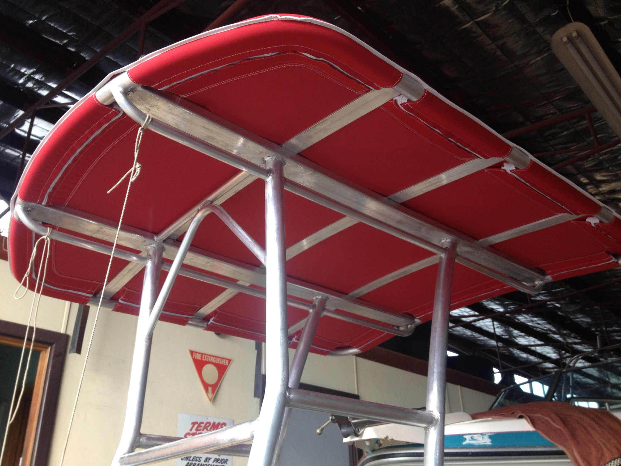Centre console canopy & Great Racks for Boats | Great Racks