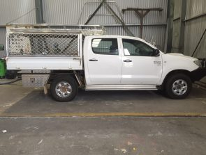 Canopy Hilux dual cab tray back
