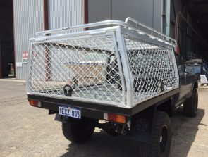 Hilux single cab tray back