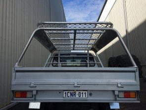 Hilux space cab tray back