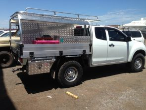 Isuzu DMax space cab tray back