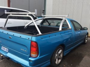 Courier Pack and Rear Bar 2