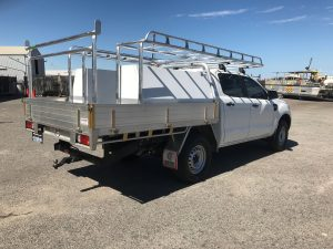 Ford Ranger dual cab tray back