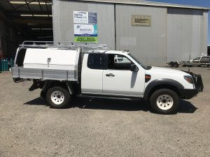 Ford Ranger space cab tray back