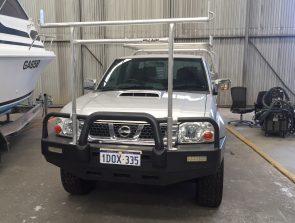 Nissan Navara dual cab tray back