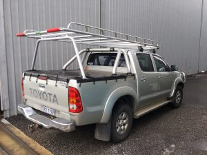 Hilux dual cab well body