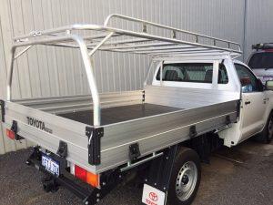 Hilux single cab tray back