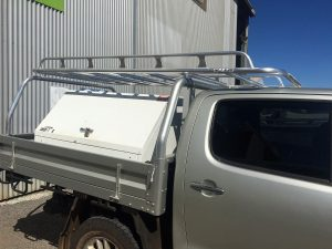 Hilux dual cab tray back