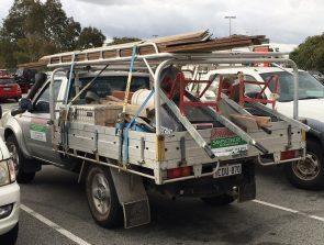 Nissan navara single cab tray back