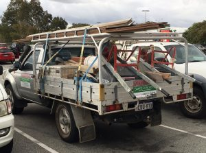 Nissan navara single cab tray back