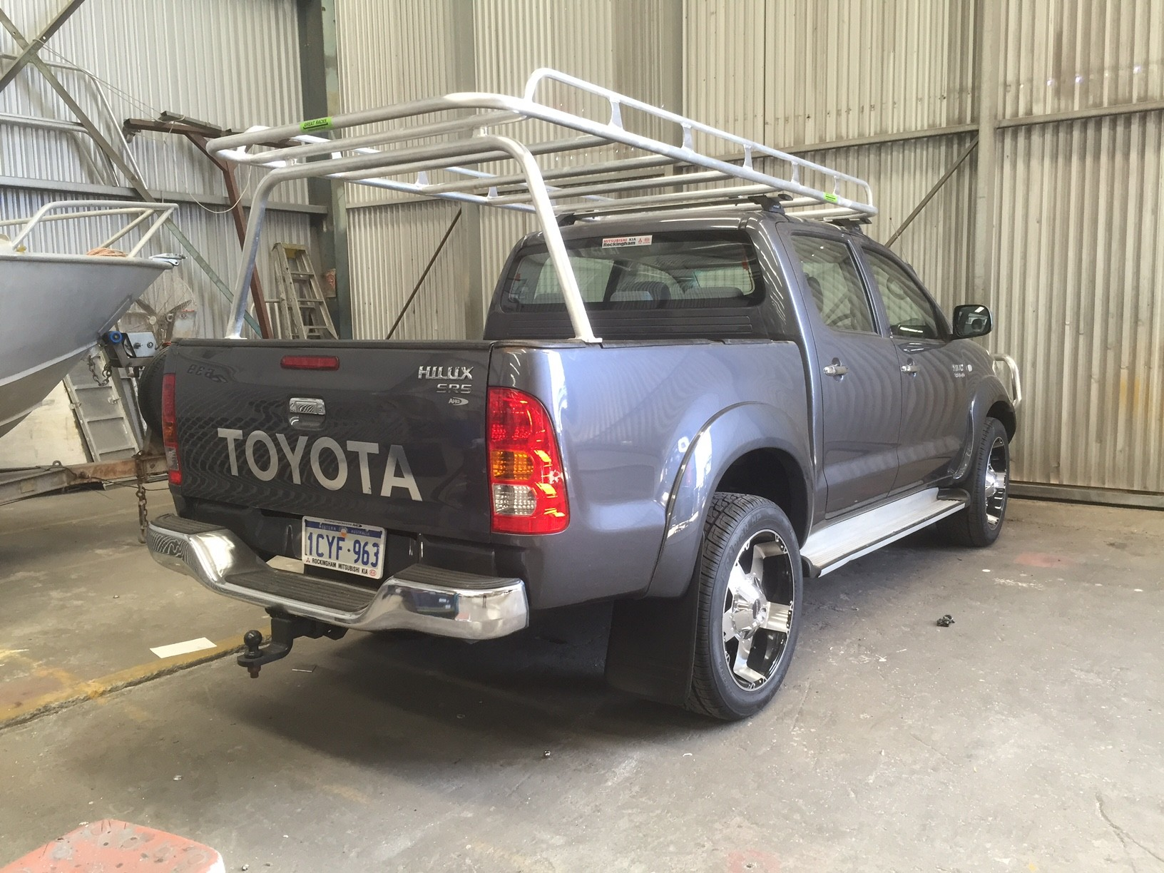 Ladder Rack Hilux Lovequilts