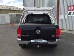 VW Amarok dual cab well body