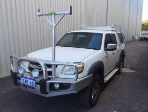 Mazda BT50 dual cab well body