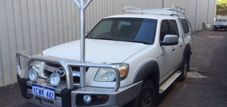Mazda BT50 dual cab well body