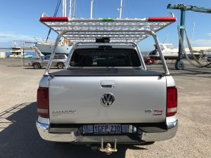 Amarok dual cab well body