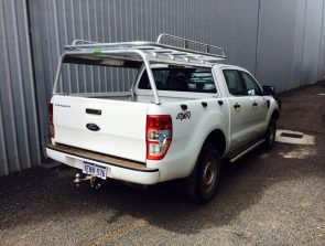 Ford Ranger dual cab well body