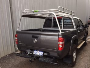 Holden Colorado dual cab well body