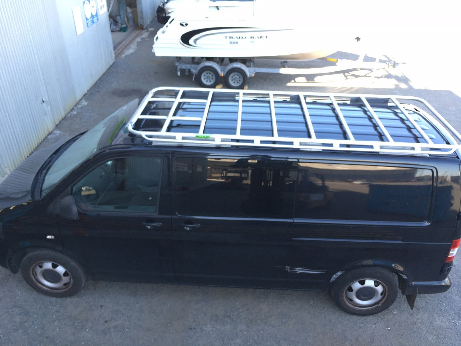 rack design by sprinter youtube van racks alurack watch prime roof