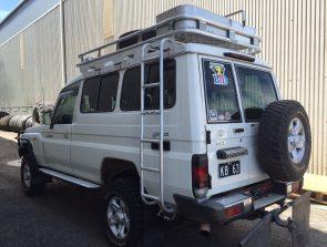 Landcruiser Troop Carrier