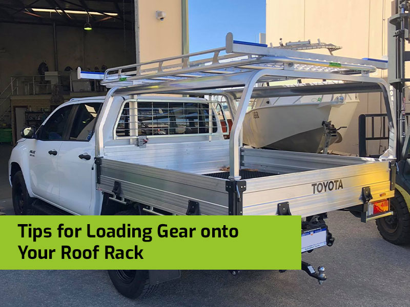 Tips for Loading Gear onto Your Roof Rack